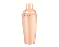 28 oz Shaker Bottle - Smooth SS with copper plating-AC6014