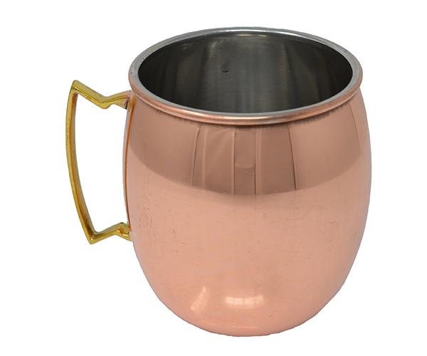 16 oz Copper Clad Moscow Mule Mug - Smooth AC6016
