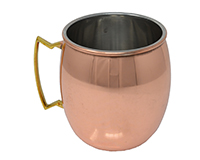 16 oz Copper Clad Moscow Mule Mug Smooth (BULK)-AC6017