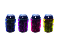 Can Cooler Assortment 2: Purple, Lime, Blue, Pink-CNK-1002