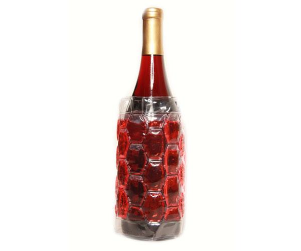Cool Sack Wine Bottle Wrap Red - Freezer Wine Bag CS4001'