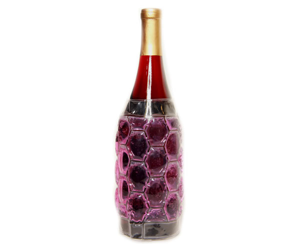 Cool Sack Wine Bottle Wrap Burgundy - Freezer Wine Bag CS4003'