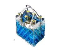 The Cool Sack - 6Pk - Blue-CS7006