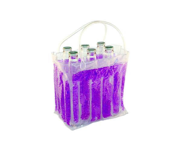 The Cool Sack - Beaded 6Pk - Purple
