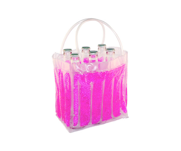 The Cool Sack - Beaded 6Pk - Pink