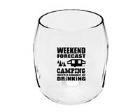 Camping Forecast EverDrinkware Wine Tumbler-ED1001-CC1