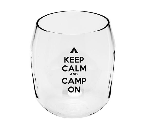 Camp on EverDrinkware Wine Tumbler