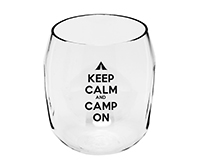 Camp on EverDrinkware Wine Tumbler-ED1001-CC3