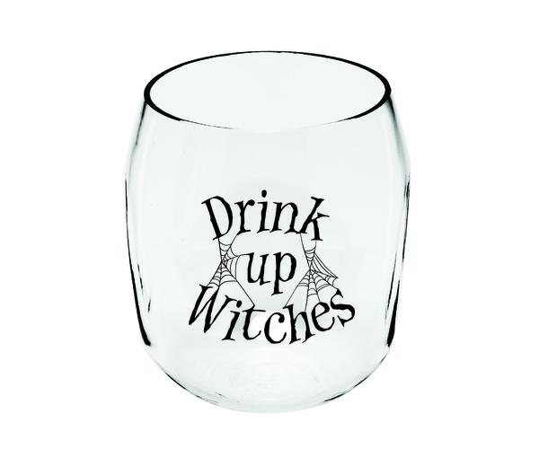 Drink Up Witches Ever Drinkware Wine Tumbler