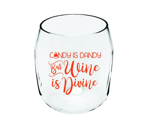 Candy is Dandy Ever Drinkware Wine Tumbler