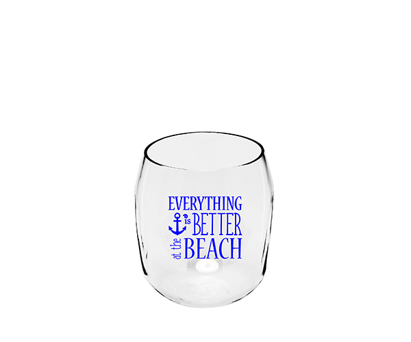 Everything is Better at the Beach Ever Drinkware Wine Tumbler