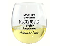 I Don't Like the Term EverDrinkware Wine Tumbler ED1001-D1