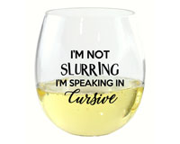 I'm Not Slurring EverDrinkware Wine Tumbler-ED1001-D2