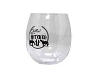 Gettin' Hitched EverDrinkware Wine Tumbler ED1001-H1