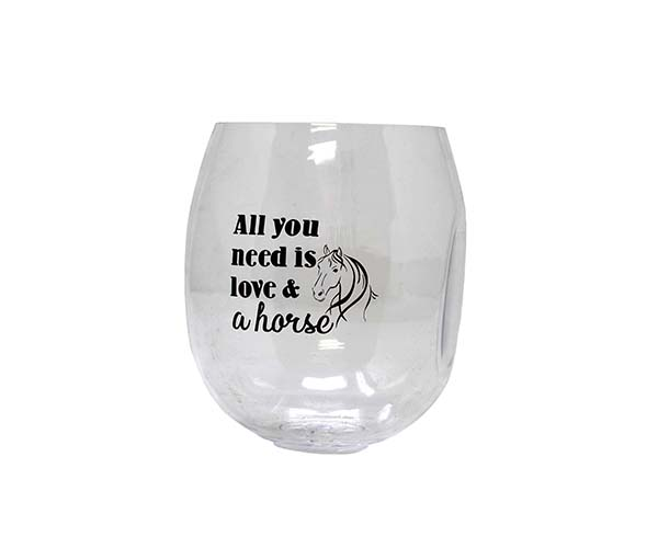Love & A Horse EverDrinkware Wine Tumbler