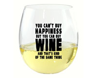 You Can't Buy Happiness EverDrinkware Wine Tumbler-ED1001-W3