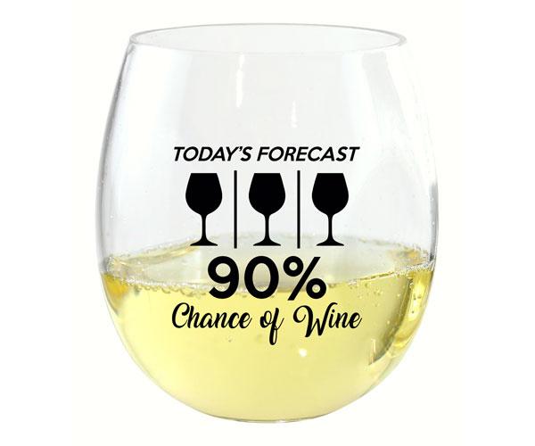 Today's Forecast EverDrinkware Wine Tumbler