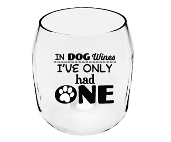 Dog Wines Paw Print EverDrinkware Wine Tumbler ED1001-W7