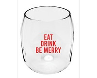 Eat Drink & Be Merry EverDrinkware Wine Tumbler-ED1001-XM8
