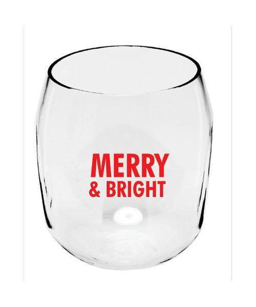 Merry & Bright EverDrinkware Wine Tumbler