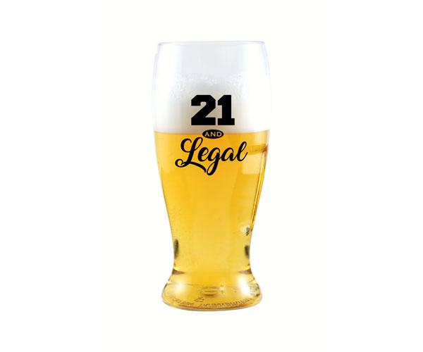 21 & Legal EverDrinkware Beer Tumbler