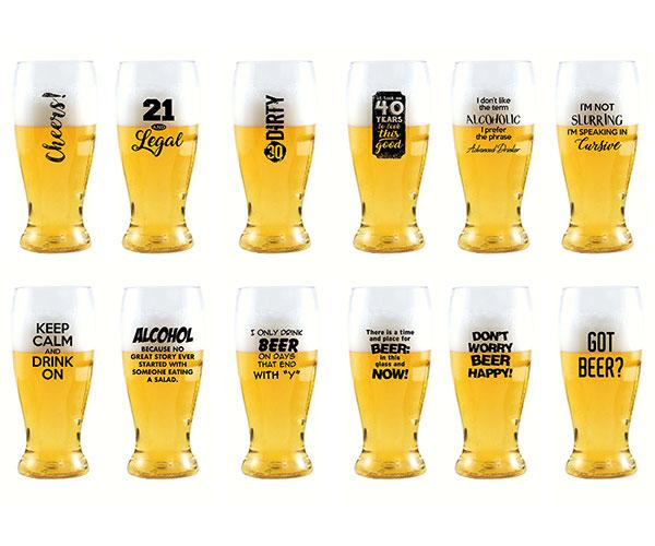 EverDrinkware Beer Tumbler Assortment (48 pieces)