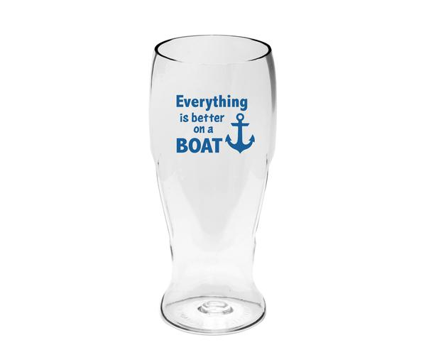 Everything is Better on a Boat Ever Drinkware Beer Tumbler