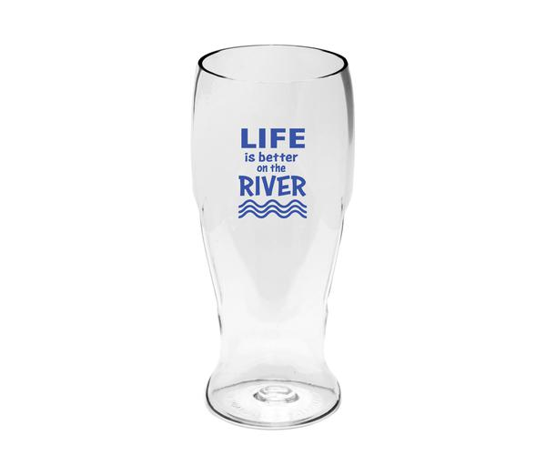 Life is Better on the River EverDrinkware Beer Tumbler