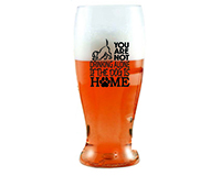 You Are Not Drinking Alone if the Dog is Home EVER Drinkware Beer Tumbler ED1003-D5