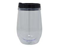 Double Wall Tumbler - Black-EDAS1000