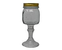 Small Jar Clear 9.5 oz GL4502CL