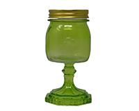Small Jar Green 9.5 oz GL4502GR