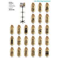 Jute Wine Bottle Sack Assortment (144 pcs)-JB1000-ASST