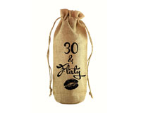 30 & Flirty Jute Wine Bottle Sack-JB1001