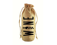 Wine Jute Wine Bottle Sack-JB1012