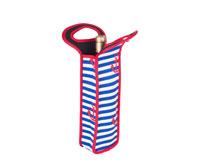 Neoprene Anchor Design Wine Bottle Tote (Holds 1 Bottle) NP107