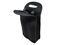 Neoprene Wine Bottle Tote Holds 2 Bottles-NP205