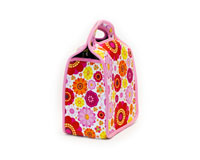 Neoprene 6-Pack Tote - Flower Power-NP303