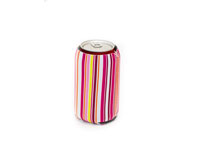 Neoprene Can Cooler - Bright Stripes-NP501