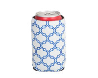 Neoprene Can Cooler - Gray & Blue-NP510