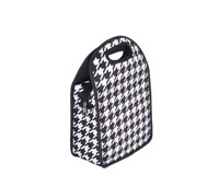 Neoprene Lunch Tote - Houndstooth-NP706