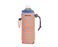 Neoprene Water Bottle Cooler - Orange & Blue-NP808