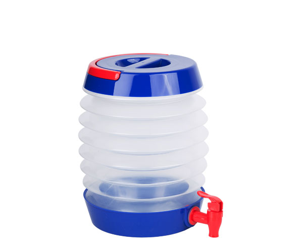 Collapsible Beverage Dispenser Blue/Red TG3205'