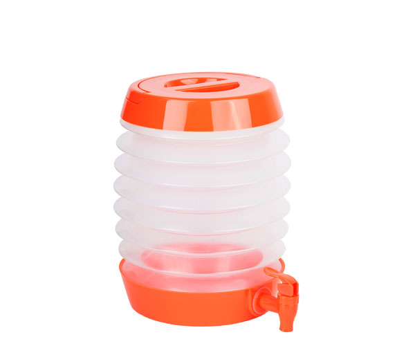 Collapsible Beverage Dispenser Orange TG3210'