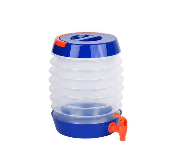 Collapsible Beverage Dispenser Blue/Orange TG3211'