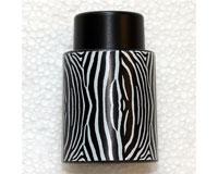 Vacuum Wine Stopper Animal Pattern Zebra-VS106