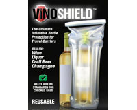 Vino Shield Inflatable Wine Protector Carrier-VS3001