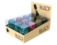Vacutop Vacuum Stone Wine Stopper Display 12 Assorted-VT1000-PDQ-3