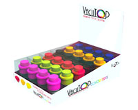 Vacutop Mini Vacuum Wine Stopper Date Indicator Display 24 piece Assortment-VT1200PDQ